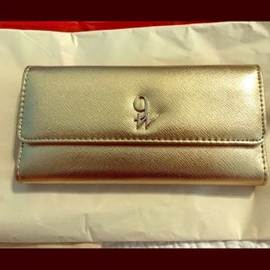 Cute Gold Nine West Wallet